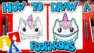 How To Draw A Unicorn Pooparoos
