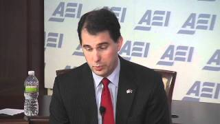 Gov. Scott Walker: Must Get Past the Recall Election to Move the State Forward