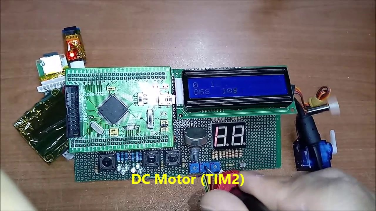 STM32 ADC + DMA + PWM + Parts