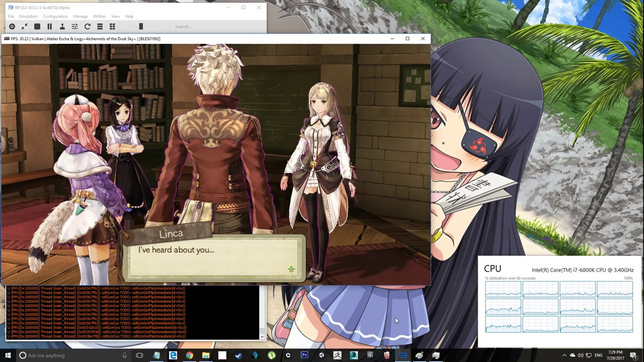 Atelier Escha and Logy: Alchemists of the Dusk Sky [BLES01992]
