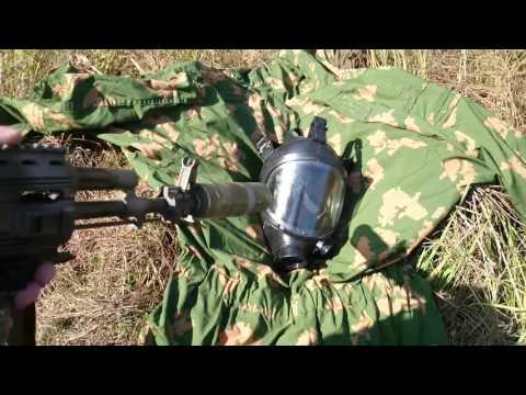 Противогаз ППМ-88 тест отстрел 160 м/с