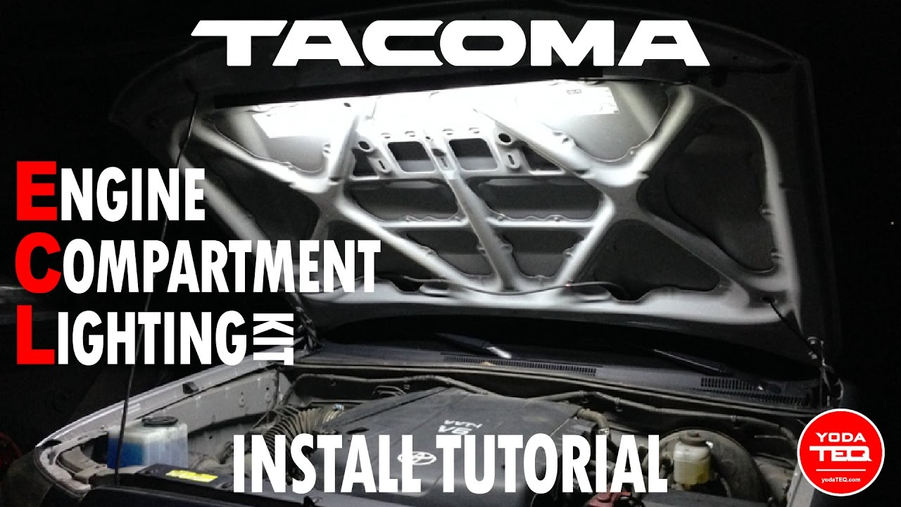 Tacoma Engine Bay Diagram Schematics Wiring Diagrams Sc300 Compartment Light For 2nd 3rd Gen Install Youtube Rh Com 350z Toyota