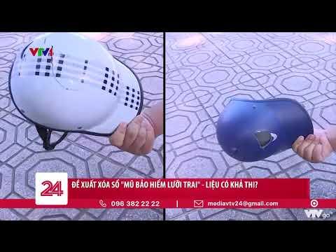 Mũ bảo hiểm lưỡi trai có thật sự BẢO HIỂM | VTV24