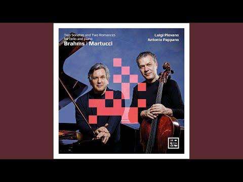 Sonata for Cello and Piano No. 1 in E Minor, Op. 38: III. Allegro