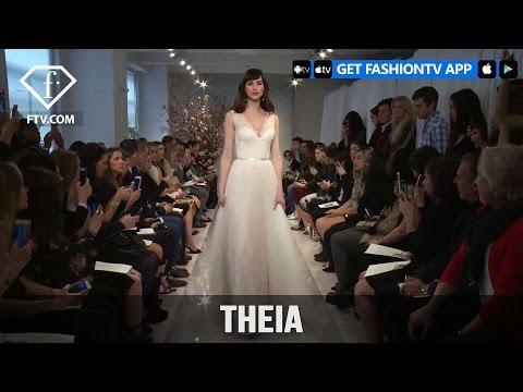 New York Bridal Fashion 2017 - Theia | FashionTV