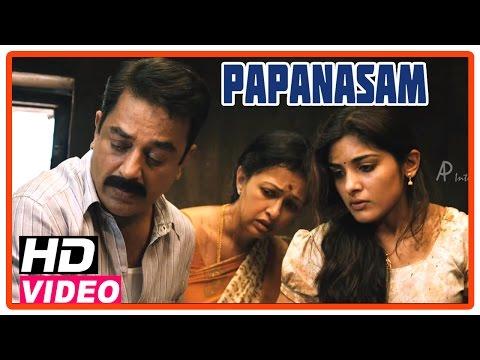 Papanasam Tamil Movie | Scenes | Nivedha slays Roshan | Kamal Haasan | Gautami