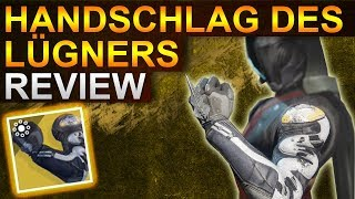 Destiny 2 Forsaken: Handschlag des Lügners Review (Deutsch/German)