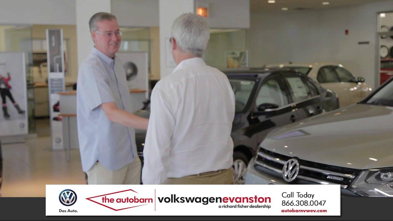 Customer Testimonial Chris S. - The Autobarn Volkswagen of Evanston - YouTube