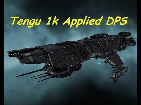 Tengu Fitting - 1k Applied DPS - Level 4 Mission Runner - EVE Online