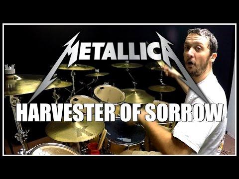 METALLICA  Harvester of Sorrow  Drum