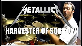 METALLICA - Harvester of Sorrow - Drum Cover