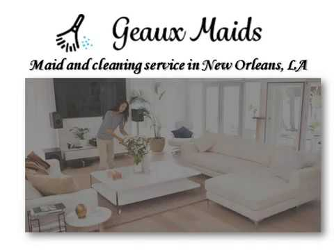 Residential Home Maid Cleaning Services In New Orleans
