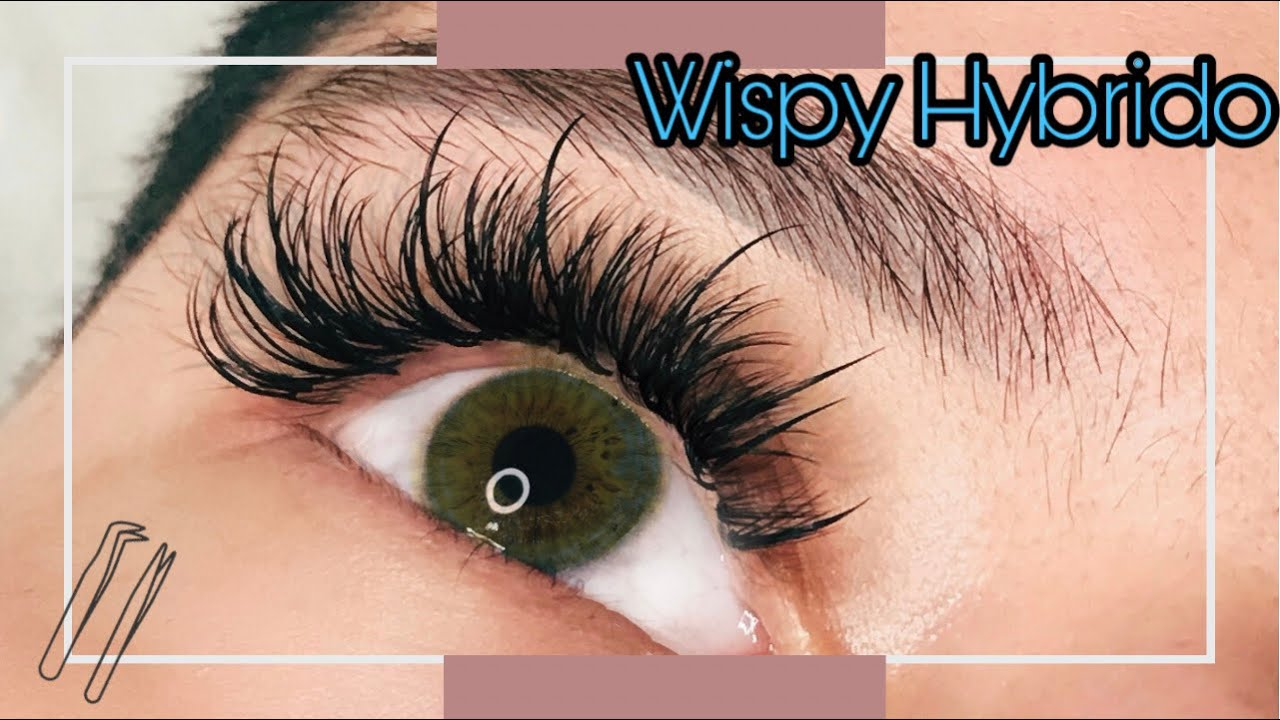 Download Set Wispy Hybrido/Paso a Paso #extensionesdepestañas