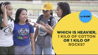 Filipinos answer really tricky questions 2018