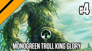Eldraine Prerelease Constructed - Monogreen Troll King Glory P4