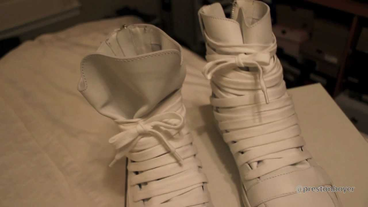 Kris Van Assche Sneaker Review - YouTube f48830c95