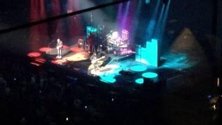 Rush R40 Hemispheres Prelude Nationwide Arena Columbus Ohio 6/8/15