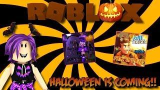 Roblox Mix #158 - Jailbreak, Epic Minigames et plus encore! HALLOWEEN EST À VENIR!
