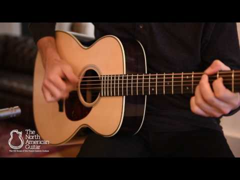 Bourgeois Vintage OM Acoustic Guitar - 'Fight' by Adam Miller