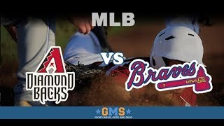 Diamondbacks (61-55) vs. Braves (71-45) August 12, 2018