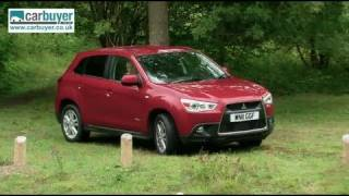 Mitsubishi ASX SUV review CarBuyer