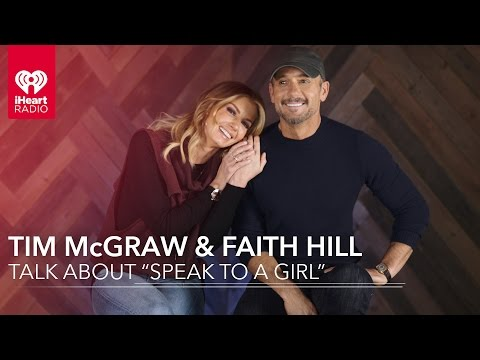 Tim McGraw and Faith Hill on Speak To A Girl  Exclusive Interview