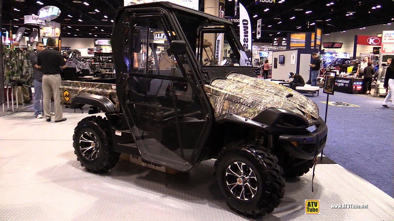 2016 Massimo Alligator 500 Utility ATV - Walkaround - 2015 AIMEXPO Orlando