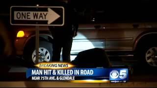 Pedestrian killed in Glendale accident