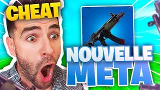 """New Meta Weapon Cheat - I didn't know this """"Move"""" at the Carabine! Top 1 Fortnite Season 5"""