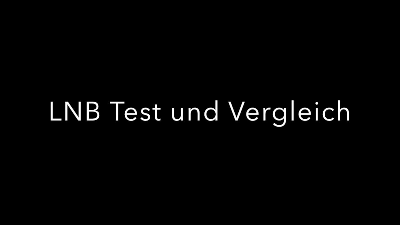 Vergleich Test