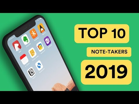 Top 10 Best Note Taking Apps for 2019