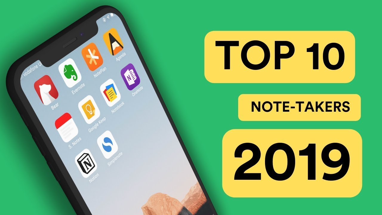 Top 5 Note-Taking Apps of 2019 — Keep Productive