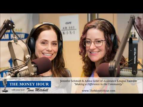 Making a Difference in the Community - Jennifer Schmidt & Adina Gillet of Assistance League Eastside