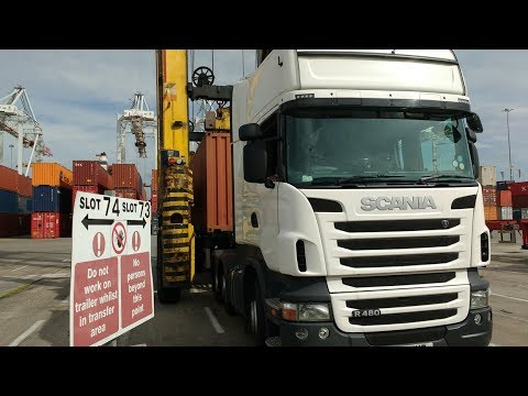 Southampton Container Terminal for Truck Drivers