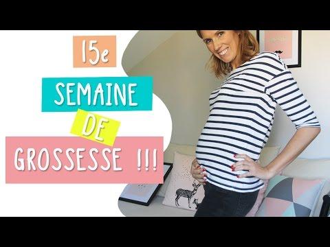 15e semaine de grossesse - 17 SA - mes astuces fringues