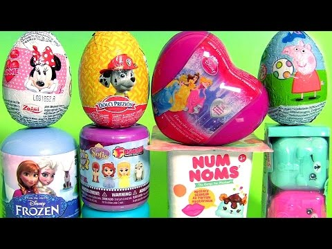TOY SURPRISES Num Noms Shopkins Backpack Surprise Sofia Disney Princess Frozen Peppa Pig