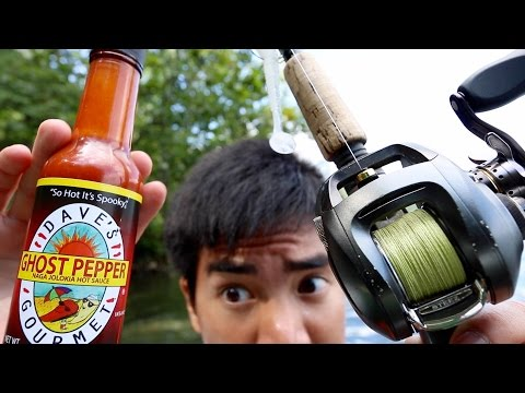 Thumbnail: Ghost Pepper Fishing Challenge!!!