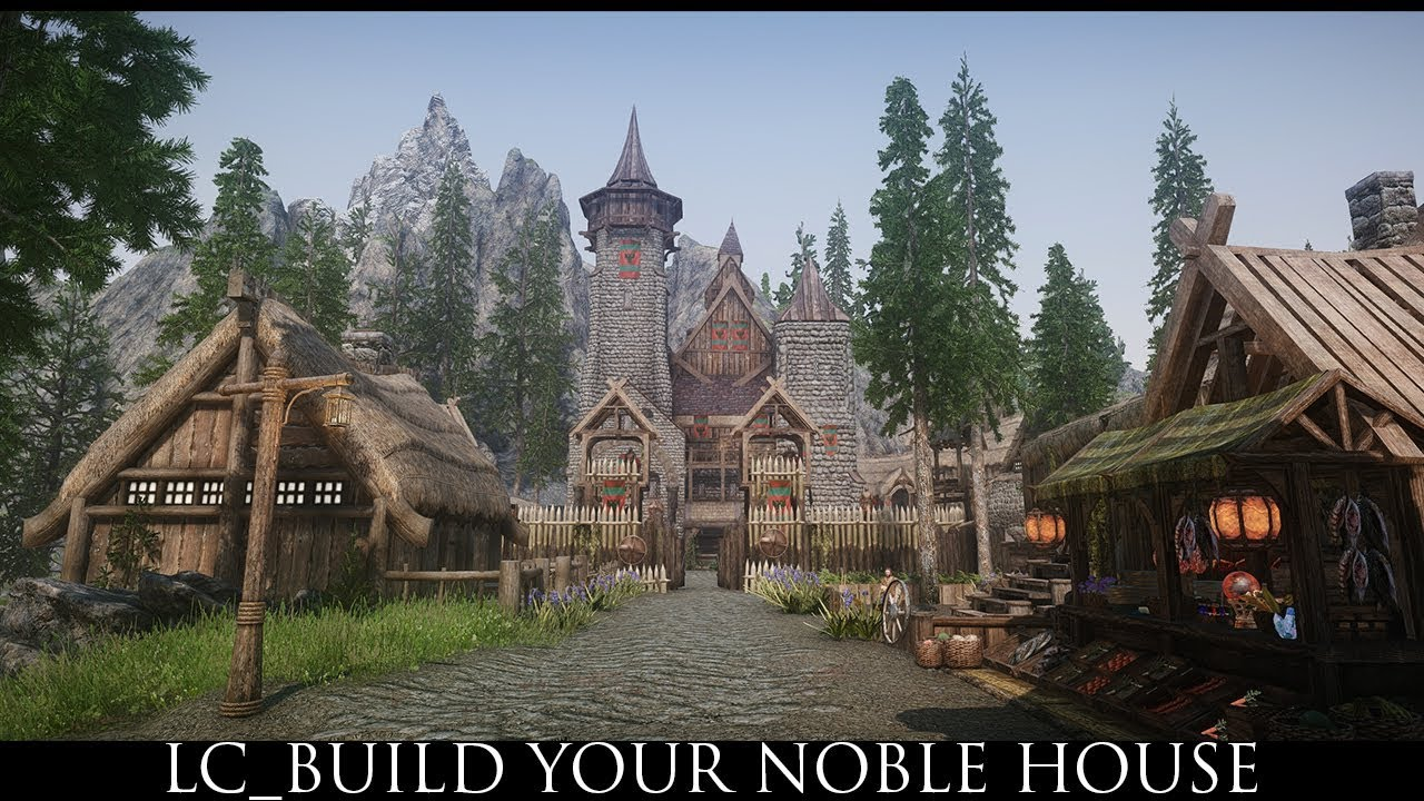 Skyrim SE Mods: LC_Build Your Noble House