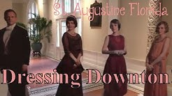 Dressing Downton Abbey : Actual Fashions from the Show in St Augustine!