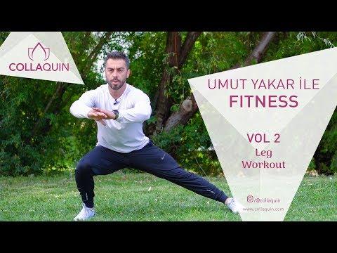 Umut Yakar İle Fitness | Vol 2 | Leg Workout