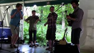 human beatbox krismenn and trad quebecois - irish tunes for canada day gig 2014