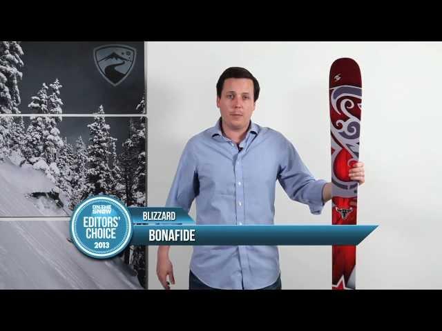 2013 Blizzard Bonafide Ski Review - OnTheSnow All Mountain Editors' Pick