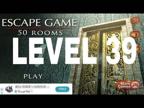 Escape Game 50 Rooms 1 Level 39 Walkthrough Youtube