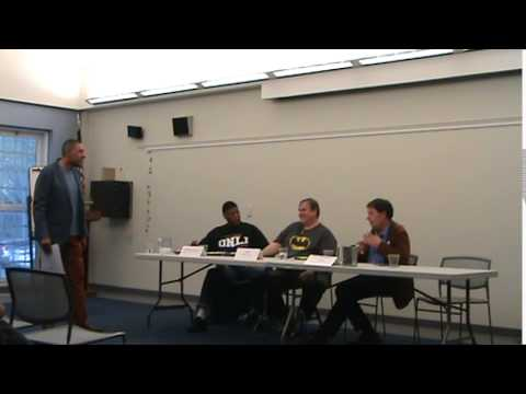 Comic Books: A Panel Discussion at Windsor Public Library, Connecticut Part 1