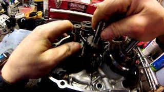 honda 50 crf moteur gb4 tuto demontage remontage de A a Z TUTO MECA