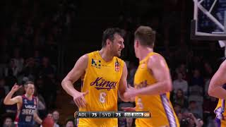 Adelaide 36ers vs. Sydney Kings - Game Highlights