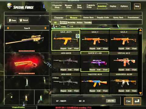 [THSF]EraGonรีวิวไอดี4ดาวน้ำเงิน 7ปืนทองถาวร(ครบ)