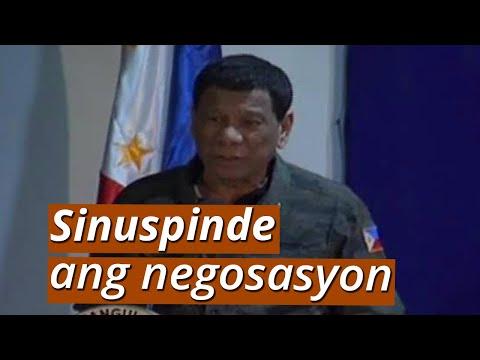 UB: Duterte, ipinag-utos na suspendihin ang negosasyon sa mga tulong-pinansyal ng ilang bansa