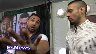 ((Keeping It 100)) Paulie Malignaggi and Dan Hardy break down mayweather vs mcgregor EsNews Boxing