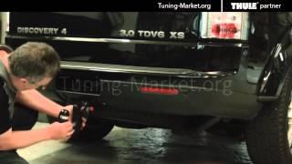 ТюнингМаркет.рф Демонстрация съемного фаркопа Thule для Land Rover Discovery 4(, 2015-02-25T06:59:28.000Z)